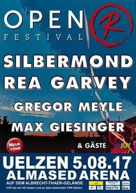 Bild: OPEN R FESTIVAL 2017 - Silbermond, Rea Garvey, Gregor Meyle, Max Giesinger + Gäste