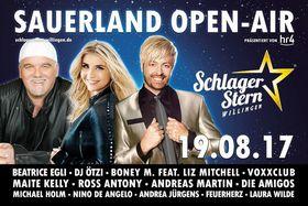 Bild: Schlager Stern Willingen 2017 - ...das neue Sauerland Open Air