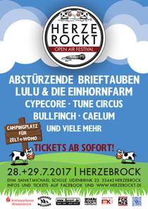 Bild: Herzerockt Festival 2017 - Ticket inkl. Camping
