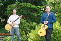Musik im Café - mit Dominik Jung und Thomas Hofer, Gitarre