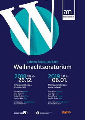 """Bild: J. S. Bach """"Weihnachtsoratorium"""" BWV 248 Kantaten IV-VI"""