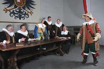 """Bild: Historisches Festspiel """"Der Meistertrunk"""" - 2017 - Rothenburger Herbst 2017"""