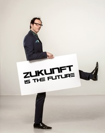 Bild: Vince Ebert - Zukunft is the future!