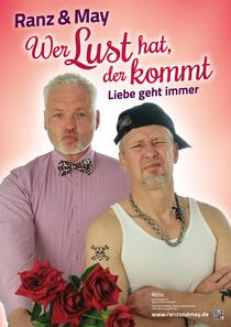 Bild: Kabarett mit Ranz & May - Wer Lust hat, der kommt – Liebe geht immer