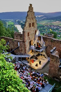 Bild: Burgfestspiele Freudenberg - Adam Lux, frei leben oder sterben