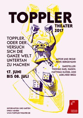 Bild: Toppler - oder der Versuch sich die ganze Welt untertan zu machen