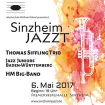 Bild: Jazzfestival ´Sinzheim jazzt´ - mit dem Thomas Siffling Trio, der HM Big-Band und den Jazz Juniors BW