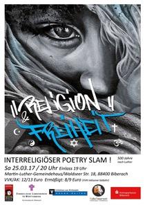 Bild: Religion & Freiheit – Interreligiöser Poetry Slam - 500 Jahre nach Luther