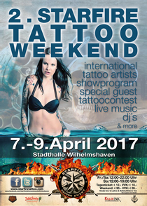 Bild: 2.Starfire Tattoo Weekend Wilhelmshaven - Tagesticket
