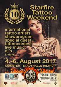 Bild: 10.Starfire Tattoo Weekend Münster - Tagesticket