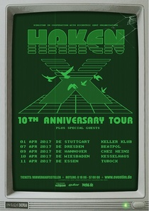 Bild: Haken - 10th Anniversary Tour