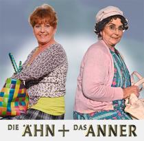 """Bild: Alice Hoffmann & Bettina Koch als """"Die Ään un das Anner"""" - """"Knete, Kerle, Karma!"""""""