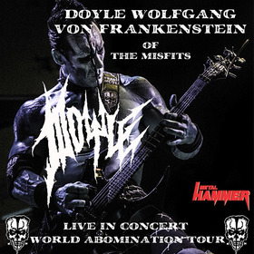 Bild: DOYLE feat. Doyle Wolfgang von Frankenstein of THE MISFITS - World Abomination Tour 2018
