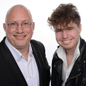 Bild: Jörg Hegemann und Patrick Ziegler - Boogie Woogie an zwei Pianos