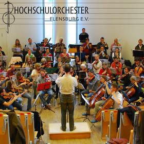 Bild: Semesterkonzert des Hochschulorchesters Flensburg - Haydn, Saint-Saëns, Elgar Solist: T. Le Pogam Leitung: T. Saye
