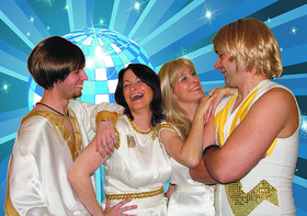 ABBA-Coverband Sweden4ever - Konzert