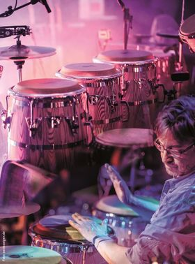 Bild: Pedro Weiss – Family of Groove - Global Percussion Music
