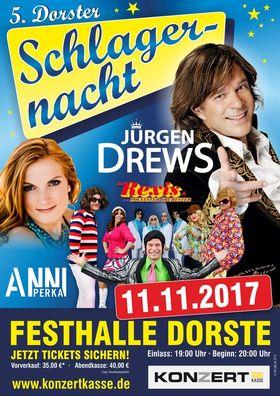 Bild: 5. Dorster Schlagernacht - mit Anni Perka, Jürgen Drews und Rex Richter