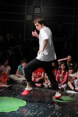 Bild: Sternenflug - Tanztheater ohne Worte aus dem Iran