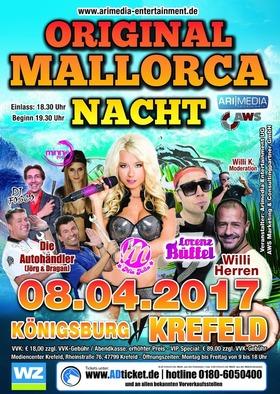 Bild: Original Mallorca Nacht - Mia Julia - Lorenz Büffel - Willi Herren - Jörg&Dragan - Minnie Rock - DJ Fosco