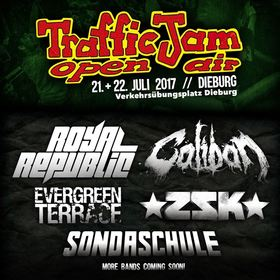18. Traffic Jam Open Air 2017 - Tagesticket Samstag