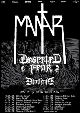 Mantar - Ode To The Flame Tour