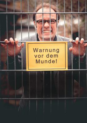 Bild: Politisches Kabarett René Sydow