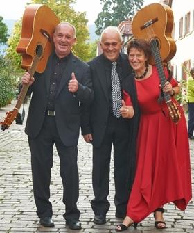 """Bild: Das Hoffmann-Hammer-Trio - """"Chanson trifft Pfälzer Mundart"""""""