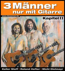 Bild: 3 Männer nur mit Gitarre