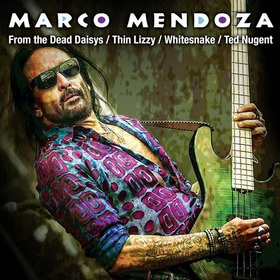 Bild: MARCO MENDOZA - (of The Dead Daisies) - Viva La Rock Tour 2018