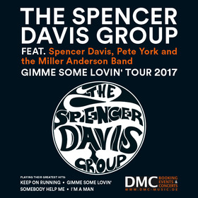 Bild: THE SPENCER DAVIS GROUP - Gimme Some Lovin´ Tour 2017