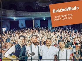 """Bild: DeSchoWieda - """"Hint häher wia vorn"""" Tour 2017"""