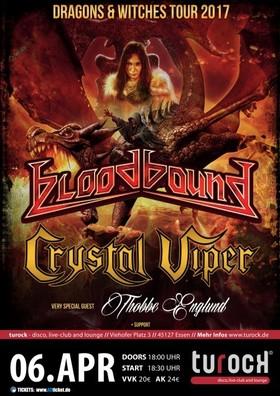 Bild: Bloodbound / Crystal Viper / Thobbe Englund