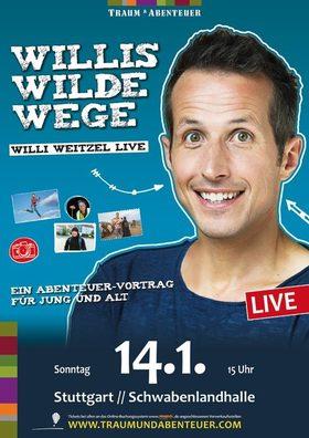 Bild: Willi Weitzel - Willis Wilde Wege - Ein Abenteuer-Vortrag für Jung und Alt