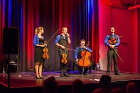 Bild: Feuerbach Quartett - Popsongs für's Streichquartett