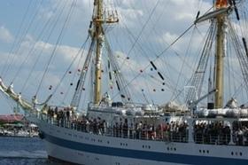 Bild: Tagestörn mit dem Segelschulschiff MIR