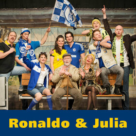 Bild: Ronaldo und Julia - Zwei Herzen zwischen BVB und S04