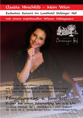 Bild: Claudia Hirschfeld - Mein Wien - Exclusives Konzert mit traditionellem Wiener Mittagessen