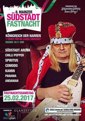Bild: 8. Mainzer Südstadt Fastnacht - Königreich der Narren.
