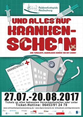 Bild: UND ALLES AUF KRANKENSCHEIN - Eine turbulente Komödie mit Musik