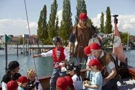 Bild: Piratenfahrt mit der Lädine