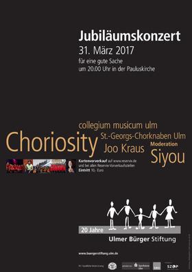 Bild: Jubiläumskonzert der Ulmer Bürger Stiftung - für eine gute Sache