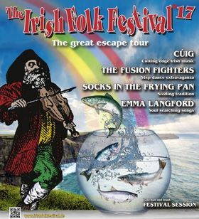 Bild: The Irish Folk Festival 2017 - The great escape tour