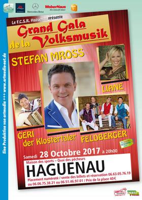 Bild: Grand Gala de la Volksmusik - Schlager / Volksmusik mit Stefan Mross, Geri der Klostertaler, Liane und Feldberger