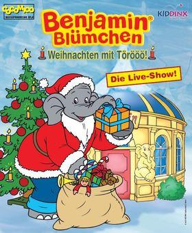 """Bild: Benjamin Blümchen """"Weihnachten mit Törööö!"""" - Das Musical - Das weihnachtliche Musical für die ganze Familie!"""