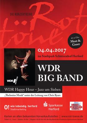 Bild: Rottöne Spezial: WDR Happy Hour - Jazz um Sieben - Thelonius Monk