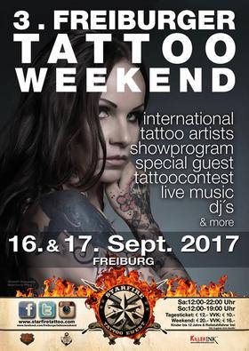 Bild: Freiburger Tattoo Weekend