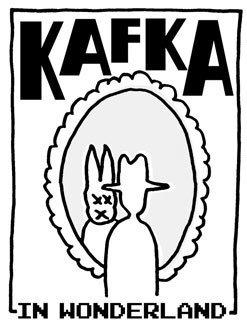 Bild: Kafka in Wonderland