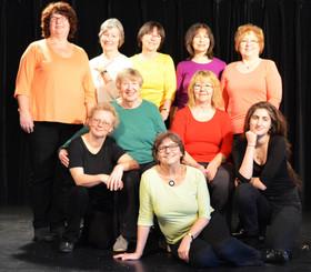 Bild: Seniorentheaterclub Fürth - Eine Collage - Freiheit, Weisheit, Starrsinn und Demenz - Im Alter darf man viel und muss nicht mehr alles