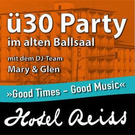 Bild: Ü30 Party im alten Ballsaal